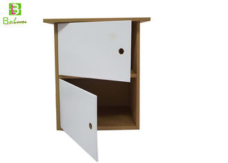 Removeable Cardboard Display Furniture , Paper Office Furniture File Cabinets