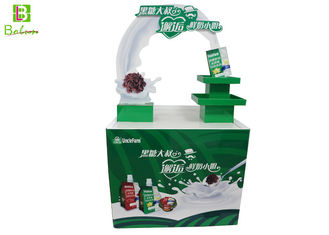 Dairy Theme Design POS Display Stand POP Promotional Showcase Stands