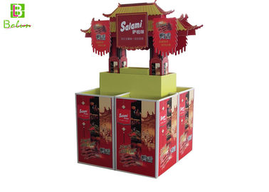 Innovative Store Cardboard  Point Of Sale Display Boxes Old Building Style