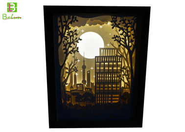 China Promotional Retail Display Props , Backlit Silhouette Shadow Box LED 5V Power supplier
