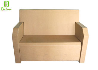 Corrugated Recycle Simple Cardboard Chair For Household Commercial