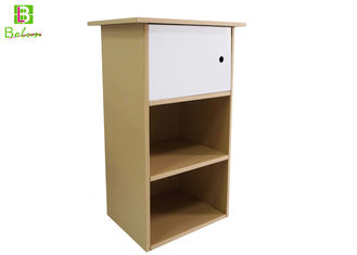 Recycle Cardboard Display Furniture , Corrugated Office Cabinet Furniture