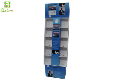 Large Cardboard POP UP Display Stands With 10 Boxes For Electronic Products